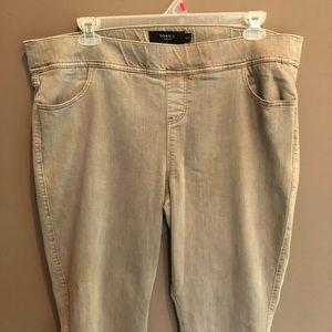 torrid Jeans - Torrid Khaki Pull On Bootcut Jeans Size 3X